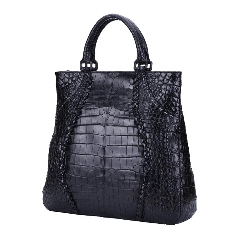 Luxury Fashion Real Crocodile Leather Handbags For Women