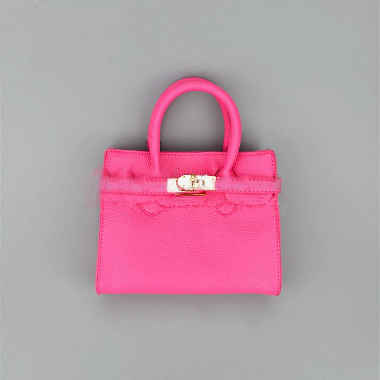 High QualityPretty Princess Style Tiny Formal Leather Handbag Women Bag For Kids