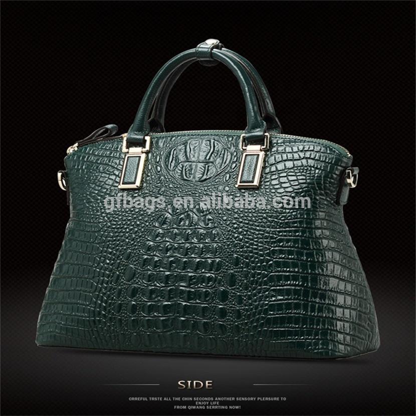 Hot sale Crocodile Bag 100% Genuine Leather Women Handbag