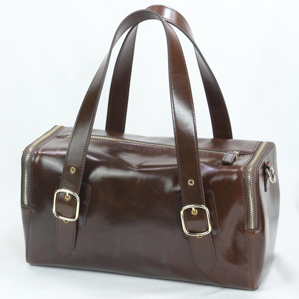 fashion design women handbag genuine leather bag
