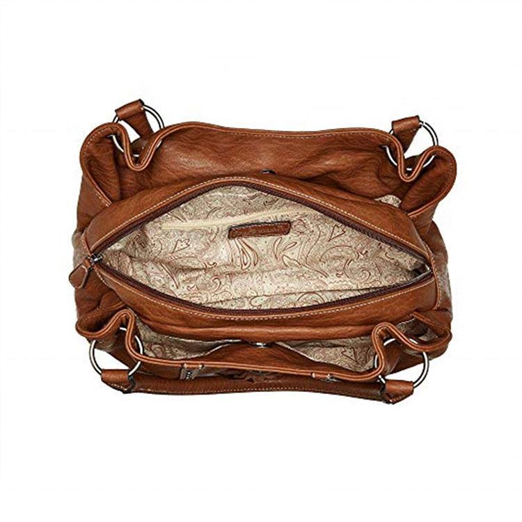 Bolso de hombro de mujer de cuero genuino de alta calidad de lujo Bolso de mano de mano para mujer Bolso de senora