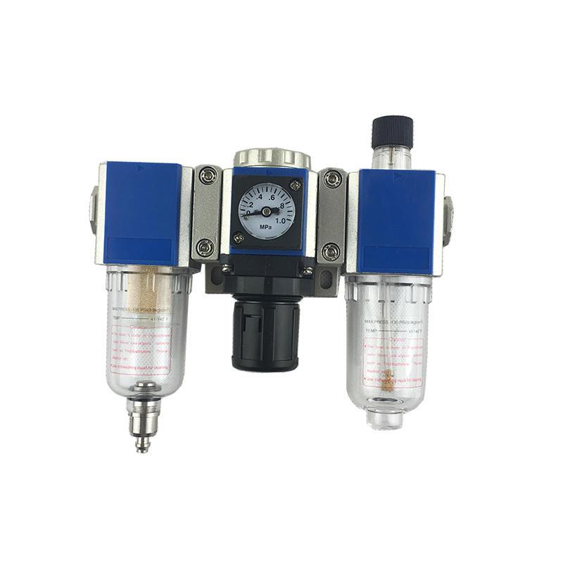 GC Series Blue GC200-06 GC200-08 GC300-08 Air Pneumatic FRL Lubricator Filter Regulator