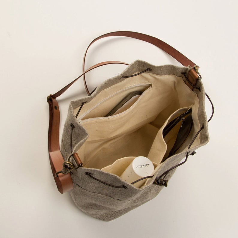 GF-2015 Fashion Linen strawbucket totebelt bags women handbags customizable