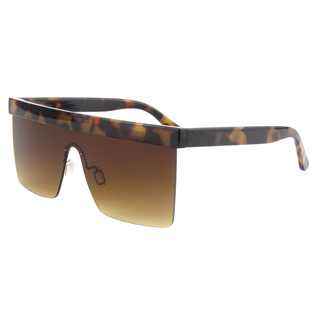 EUGENIA 2020 Square Retro Wholesale Authentic Designer Women Oversize Sunglasses