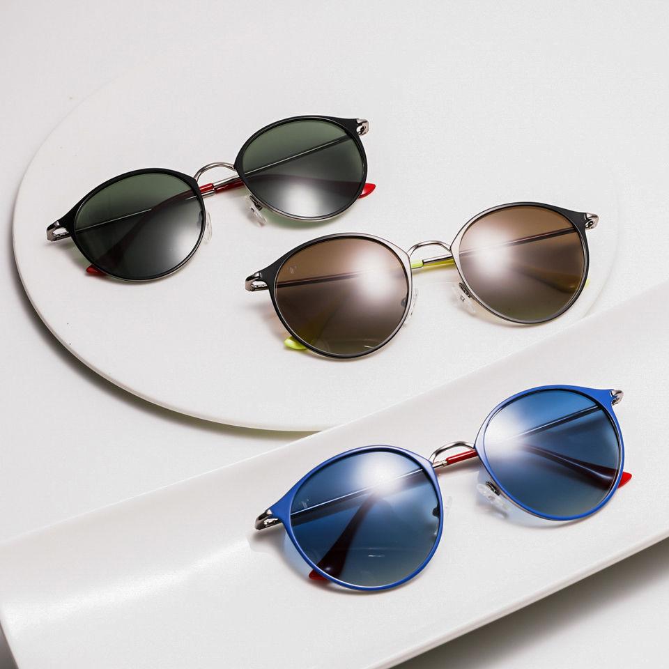 EUGENIA 2020 Italian Brand Oculos De Sol Unique Custom Name Logo Metal Sunglasses