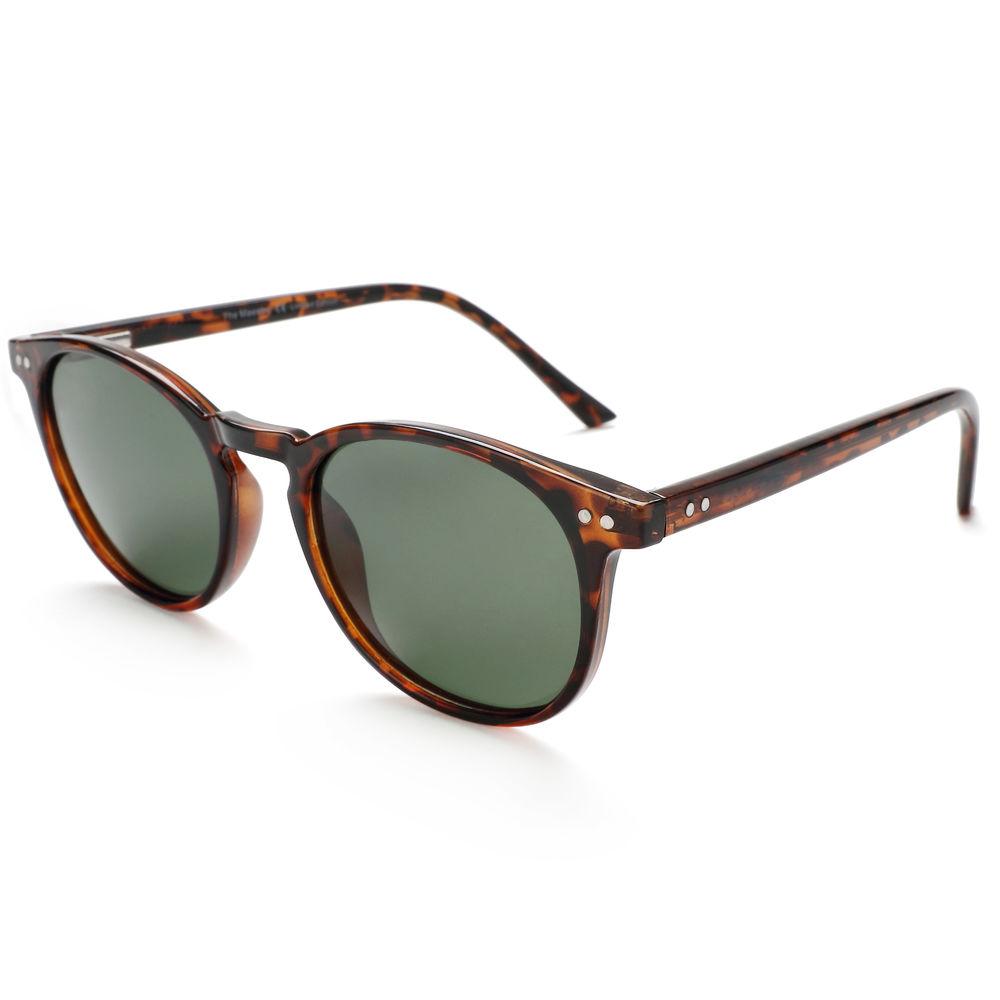 Eugenia Spring Hinge Plastic Frame High End Custom Logo Sunglasses