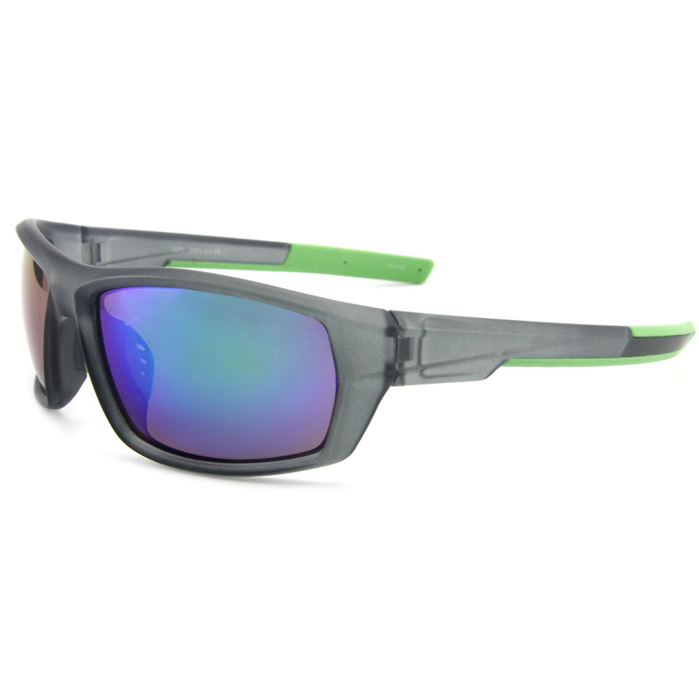EUGENIA Double Injection Frame With Mirrored Lenses Gafas De Sol Hombre Cycling Sunglasses