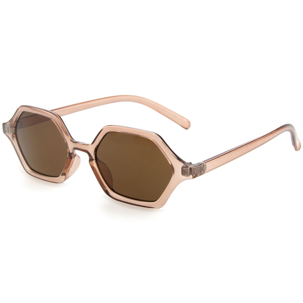 EUGENIA 2020 Mini Small Fashion Shape designer branded promotional sunglasses from China sun glasses manufacturers