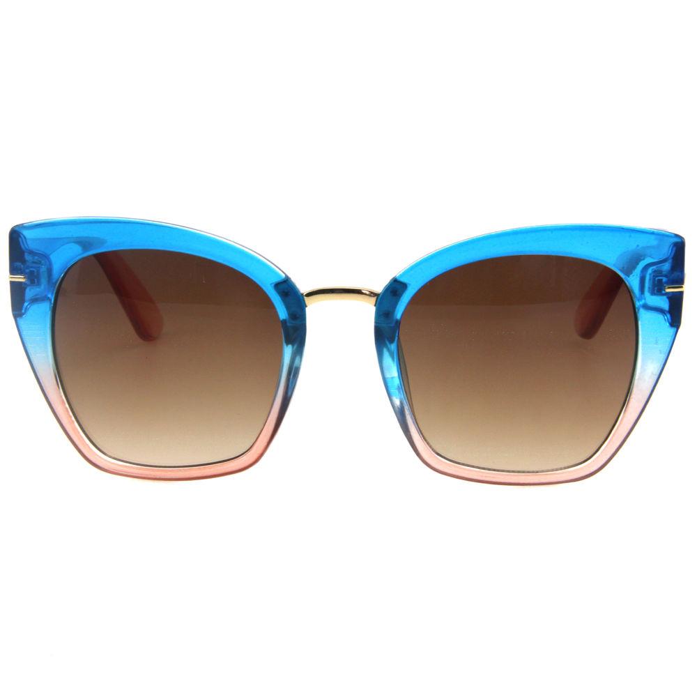 EUGENIA 2020 Custom High Quality Women Cat Eye Transparent Sunglasses