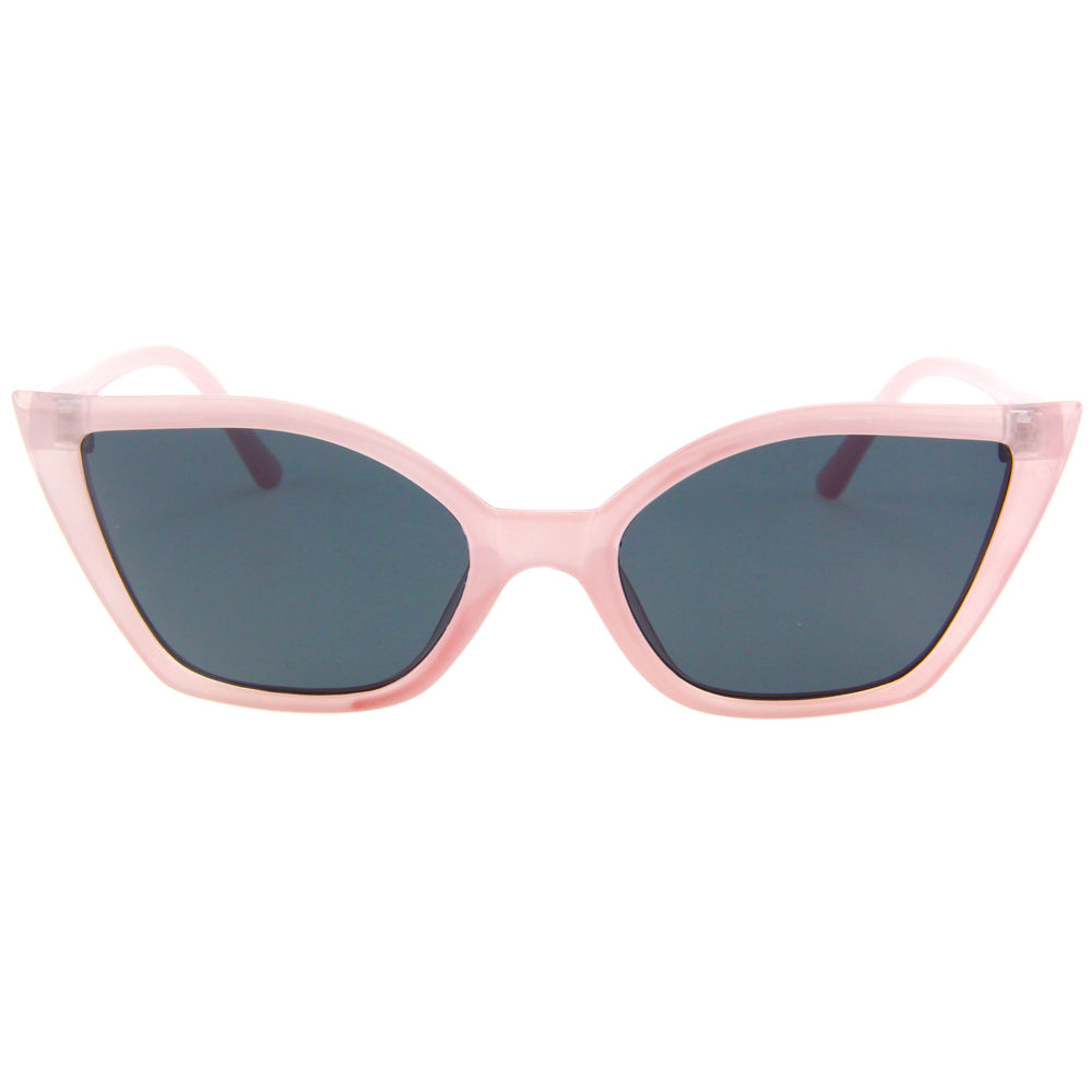 EUGENIA Candy color hot polarized sunglasses women luxury custom cateye sunglasses for fashion