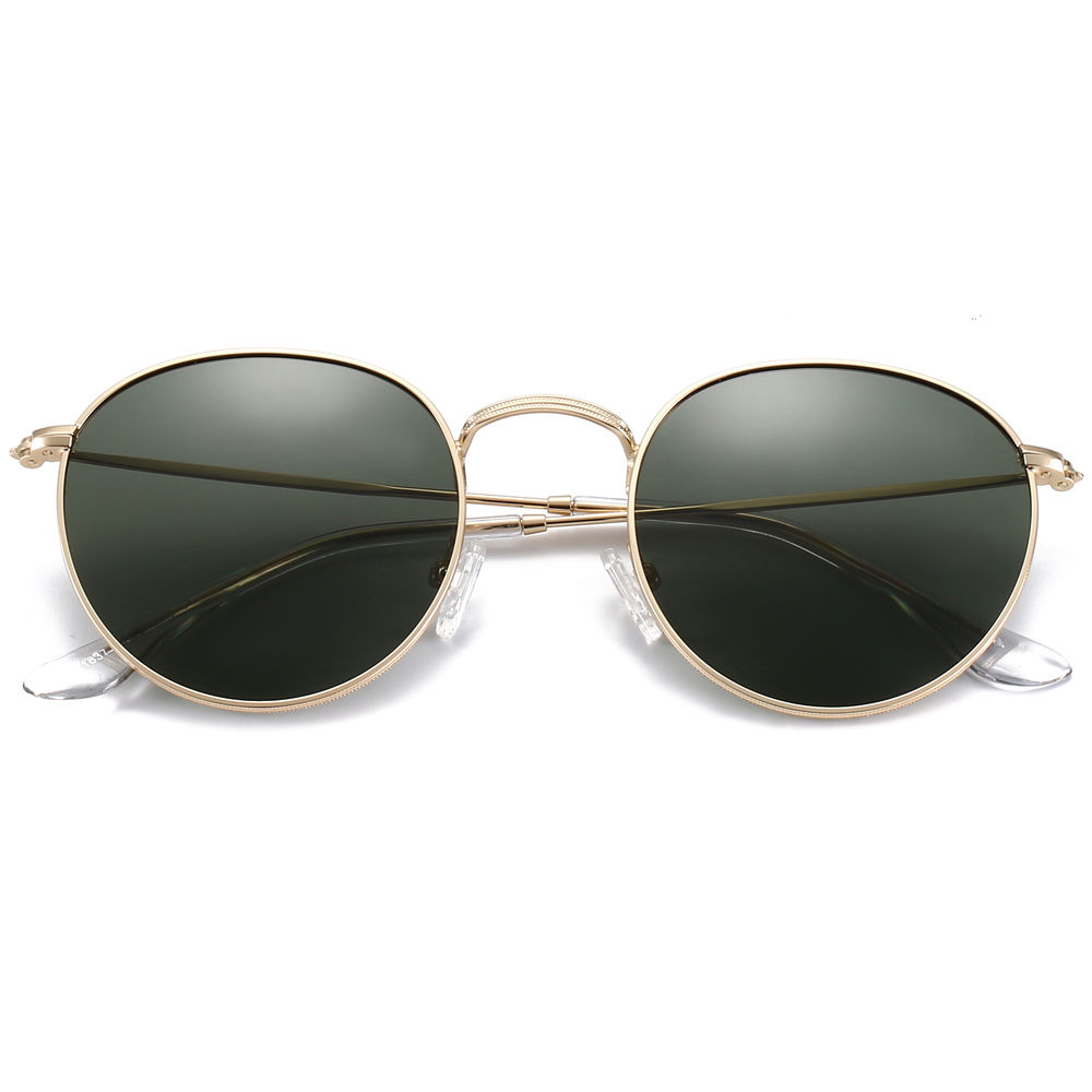 EUGENIA Vintage Retro Small Polarized Lens Men 2020 Round Sunglasses
