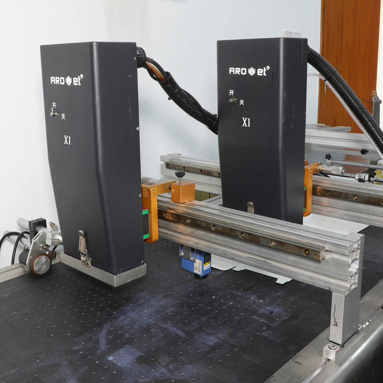 Four Color Digital Inkjet Printing Machine for Food Packaging Caps