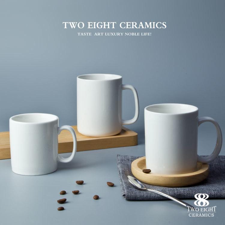 Wholesale crockery tableware tea &coffee cup with handle