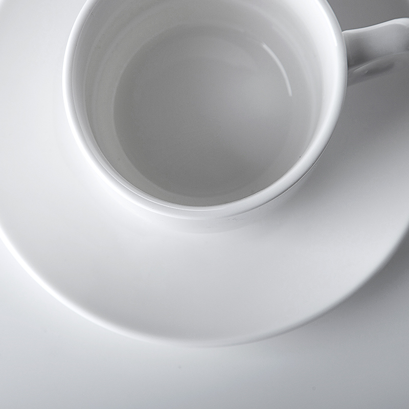 Anti-scratch Coffee Cups And Saucers, Two Eight Tea Cups Saucers, China Wholesale Tea Cups