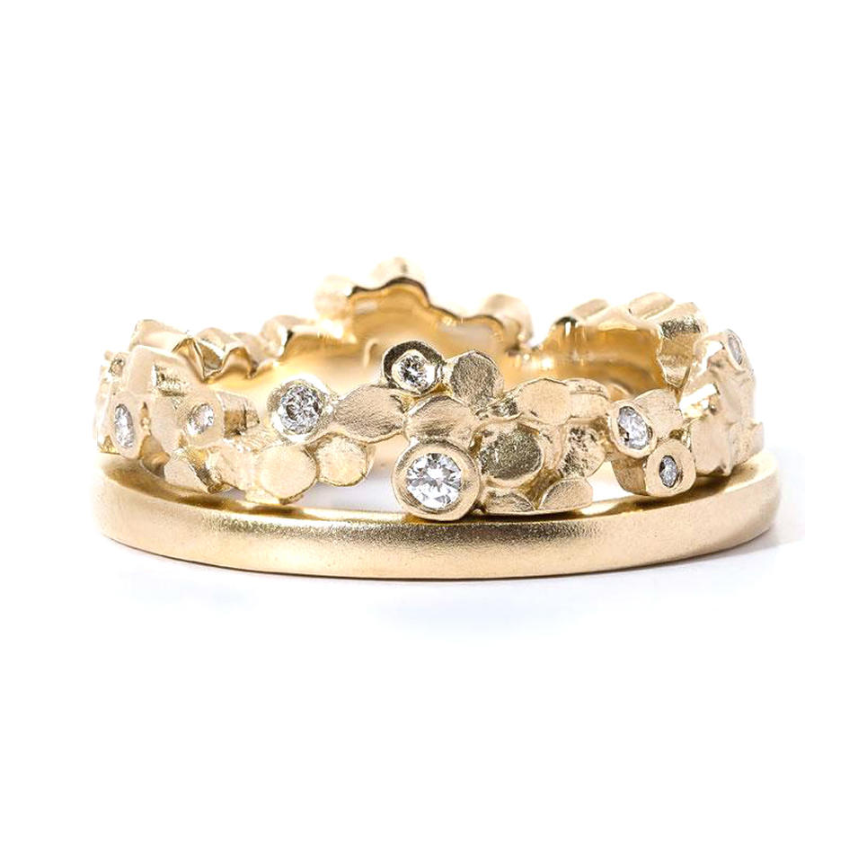 Manly style for appiontment crown shape design gold 975 rings