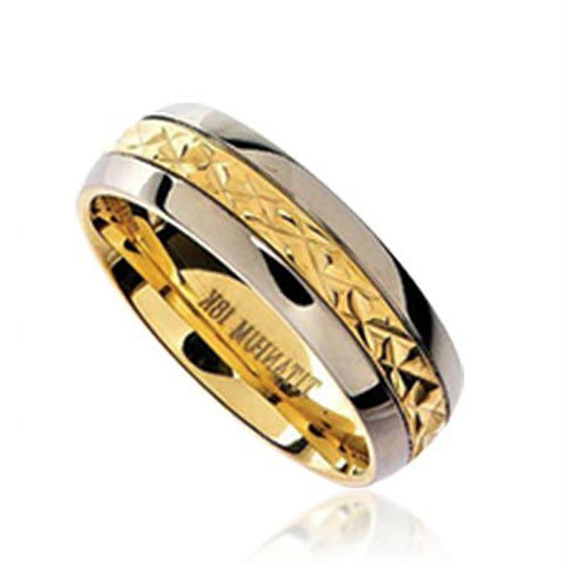 Gold Plating Yellow Zirconia Bijoux Deals On Wedding Rings