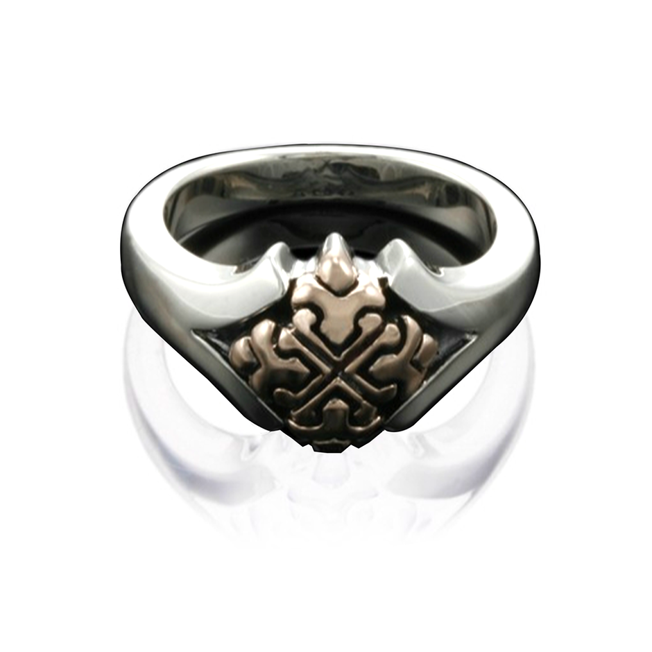 new trendy fashion cool modern gents gold rings