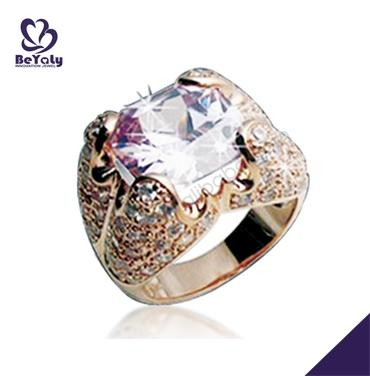 Heavy gemstone wedding silver latest gold finger ring designs