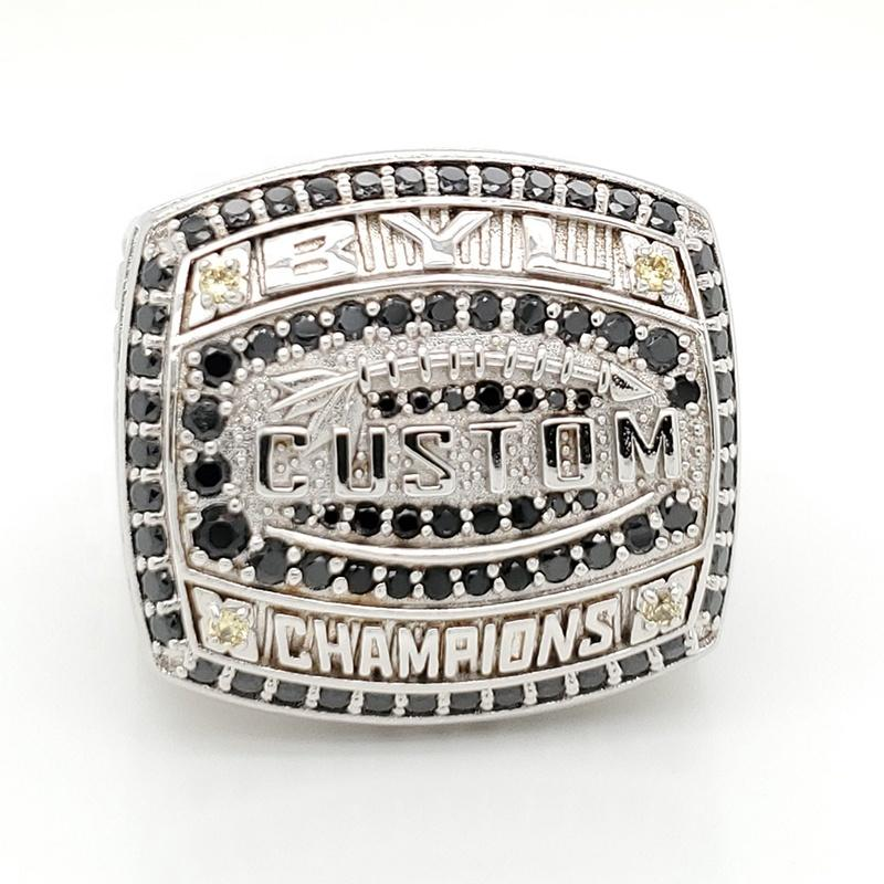 Cheap Sports Replica Custom National Championship Ring Sterling Silver