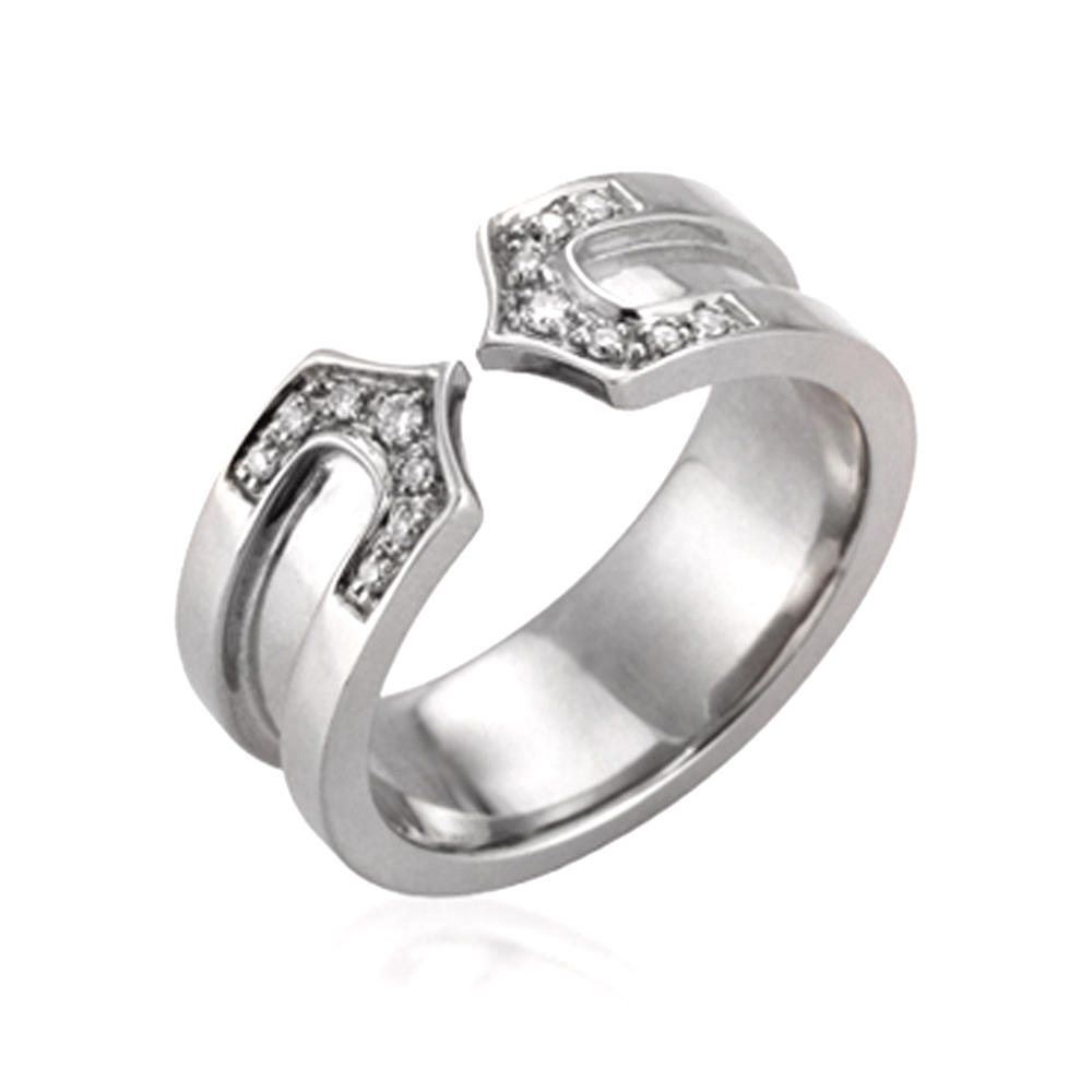China direct supplier clear zirconia silver 4 gram gold ring
