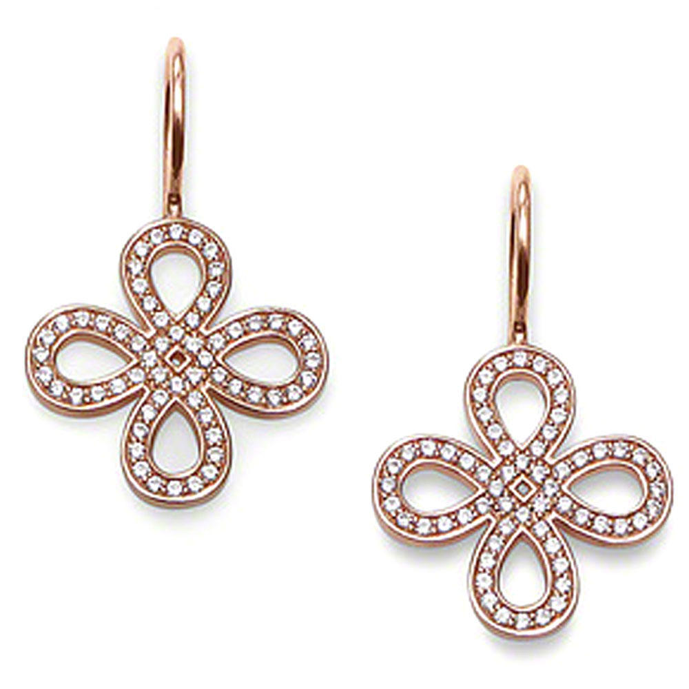 Chic cross shape silver gold jhumka earrings design with price