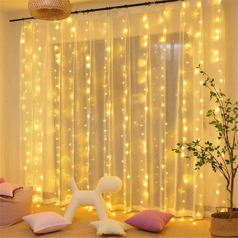 Ramadan Decorations USB Interface 300 LED Decoration 8 Modes & Waterproof IP42 For Christmas Wedding Party Bedroom Decor
