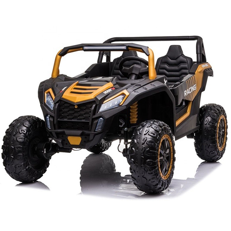 Wholesale 24 Volt ride on cars for toddlers rubber wheels kids MX UTV child electric big car with two seats