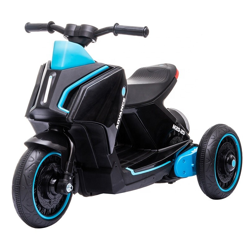Mini cheap three wheels 6 volt battery power pedal motorcycle for kids for sale electric ride on toys motorcycle