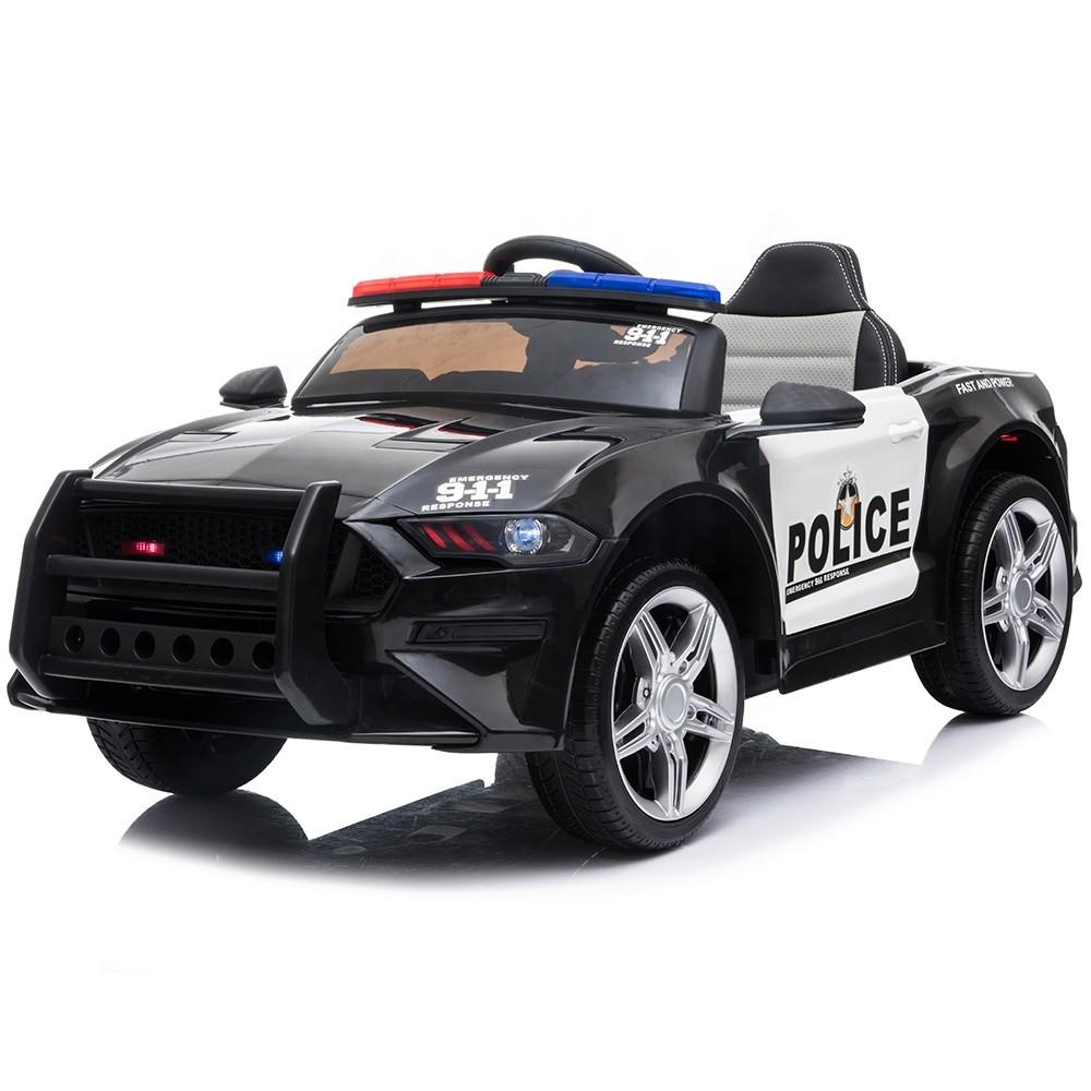 2019 New Chidren 12v electric car police car for kids ride on