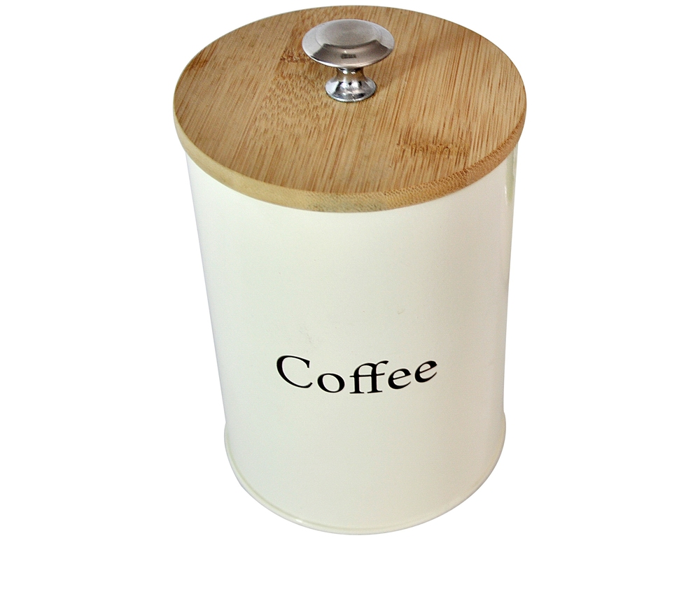 Round Shape Smallcoffee Metal Tin Box