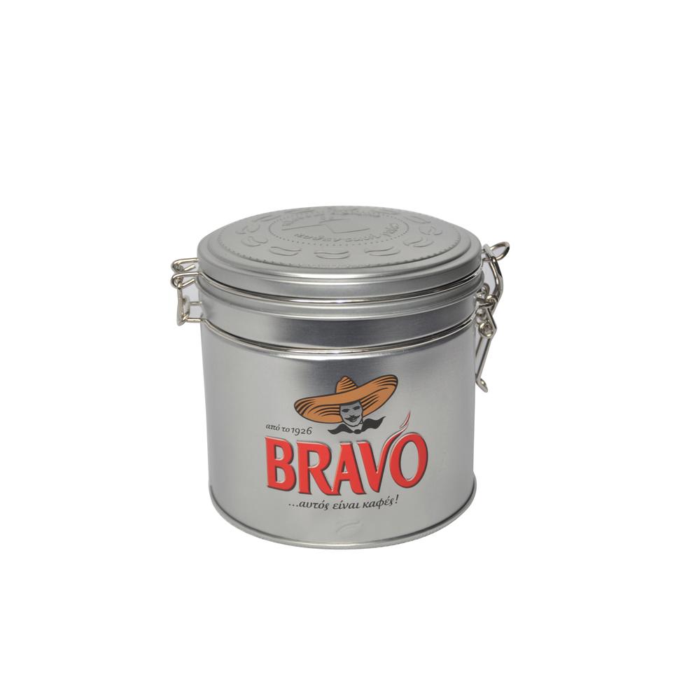 aluminium round tin can Coffee Tin Box