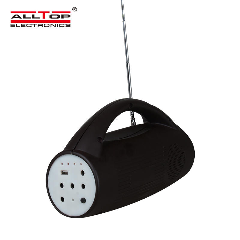 ALLTOP Energy saving Portable ABS 8W Multi-functional emergency light
