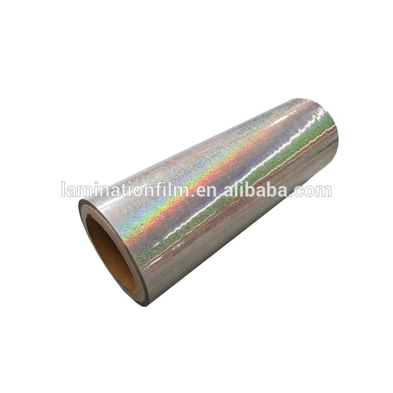 Holographic Thermal Laminating Film, transparent laminating film holographic