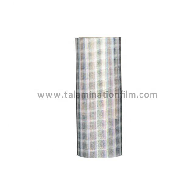 Transparent Hologram Plastic Film BOPPHolographic Thermal Lamination Film