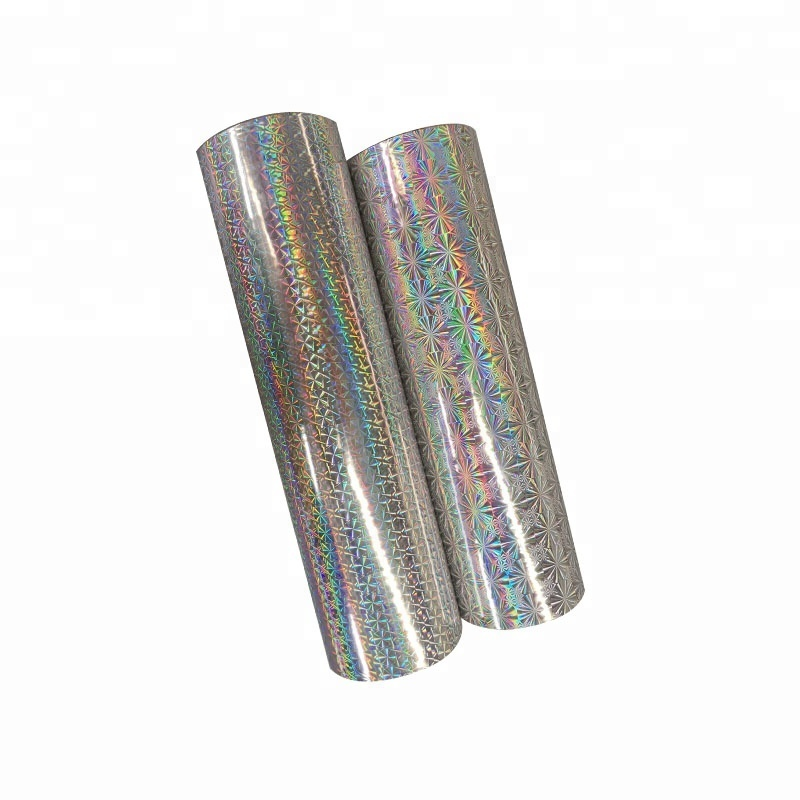 Best Supplier BOPP Thermal Lamination Holographic Film Hot Lamination Holographic Thermal Plastic Film For Printing