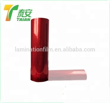 2020 Holographic colourful thermal lamination films, Holographic Paper roll, Hot melt adhesive for fabrics