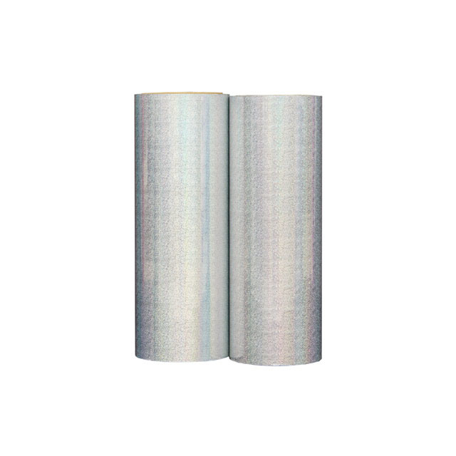 Different pattern PET and BOPP Holographic Metallized and Transparent Lamination Film for paper board
