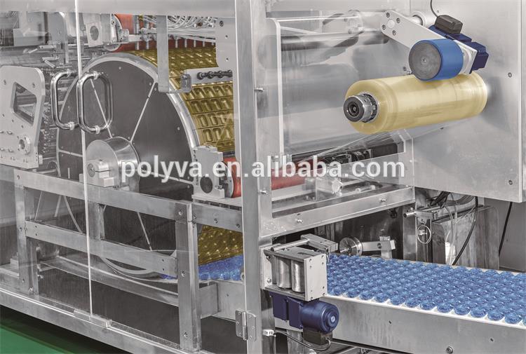 Polyva machine electrical water soluble film packaging machine laundry washing pods detergent liquid machine