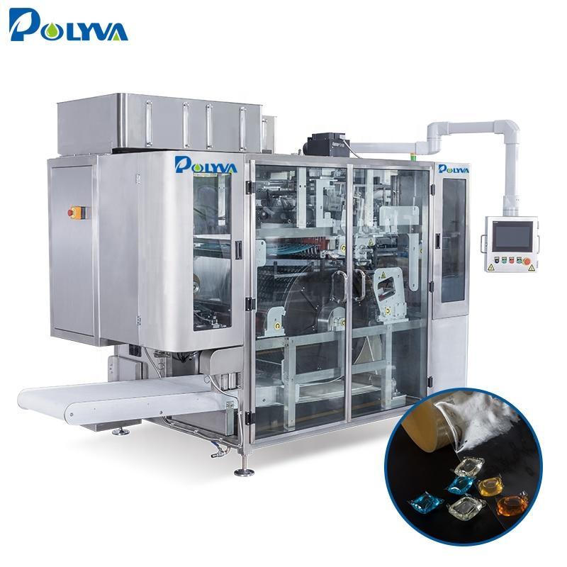 Polyva machine small-dose powder detergent pod beads making machine high speed machine packing