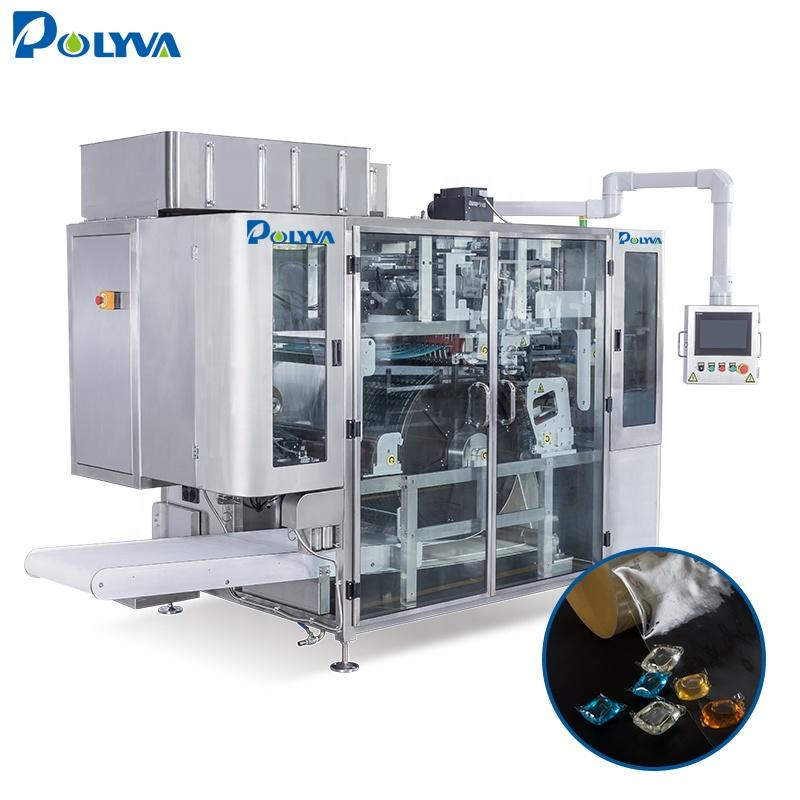 China high end laundry pods manufacture 10-30g laundry pods/capsules packaging machine