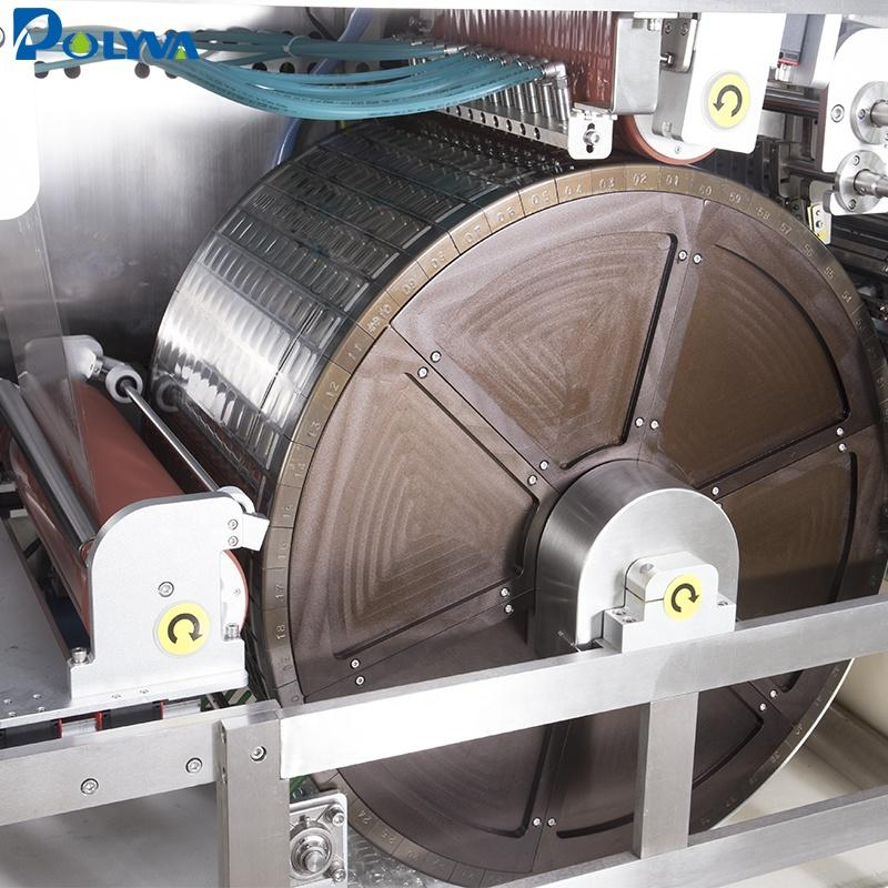 Polyva machine double chambers laundry detergent packaging pods fully automatic laundry machine