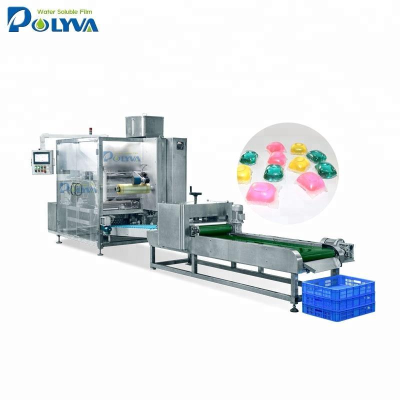 Polyva machine OEM high speed capsule automatic packing machine powder for liquid detergent pod