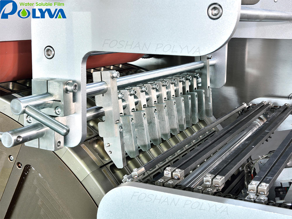 polyva high speed driving and processing mold cavity pva film packing machine for laundry detergent