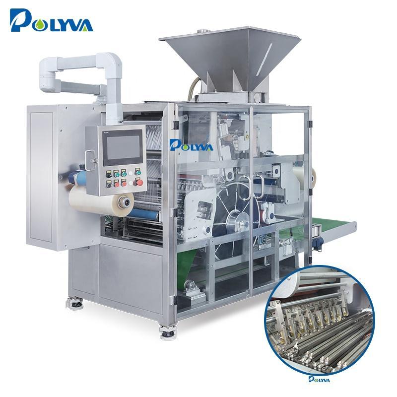 Polyva machine supplier colorless liquid powder detergent capsule beads filling machine capsule blister packing machine