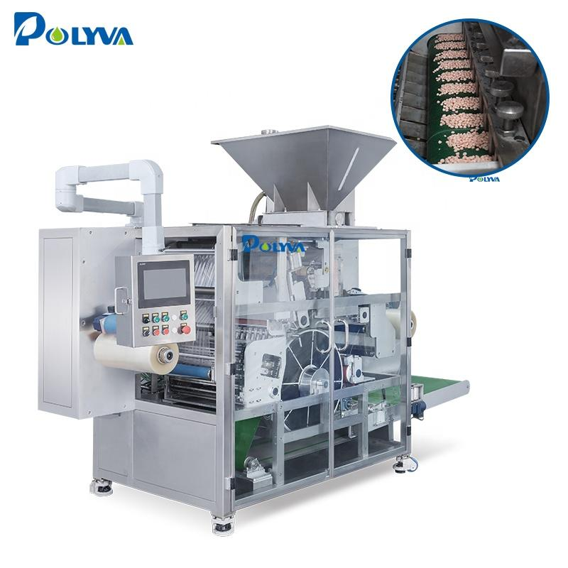 Polyva 2018 high speed automatic laundry detergent pods packaging machine /liquid filling machine