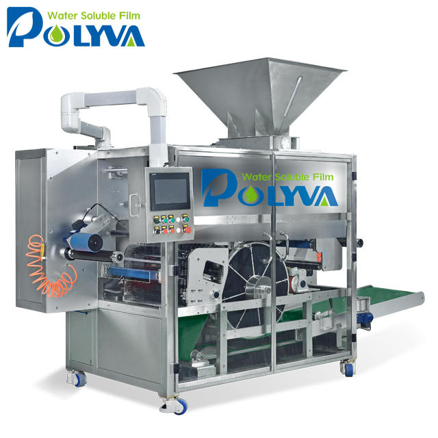 POLYVA biodegradable packing film cold water soluble pva film of laundry detergent washing powder packing machine
