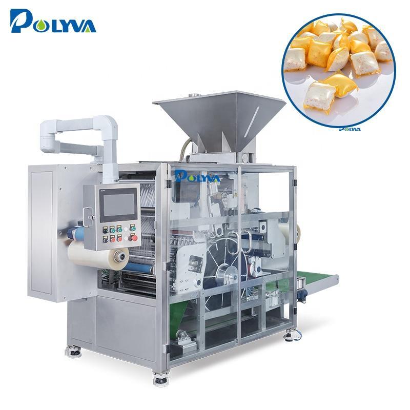 Polyva packing machine powder custom liquid soap making packaging detergent pods packing machine