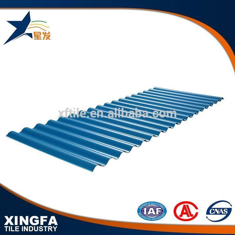 Newest technology UPVC spanish style roof tiles