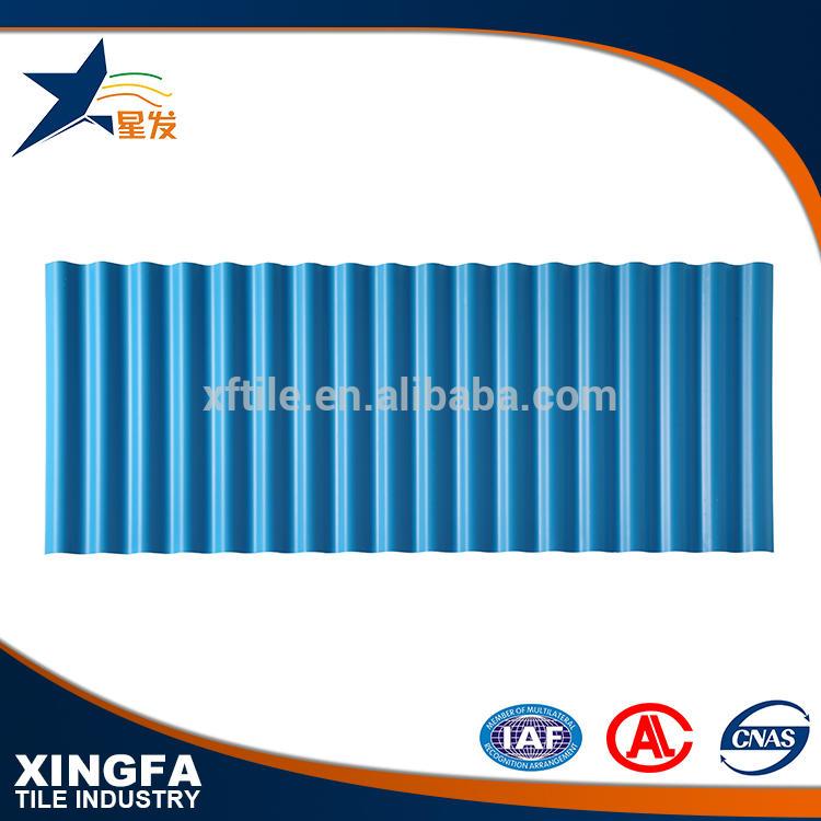 Weather resistance corrugated pvc sheet upvc foam roof tile