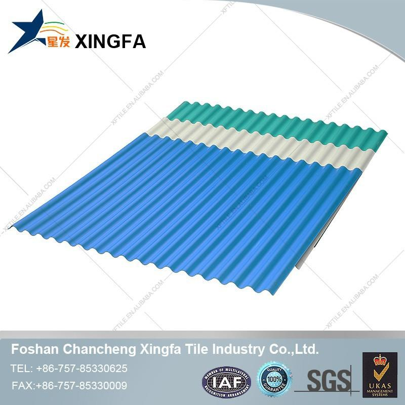 Construction Building Materials In Africa UPVC Roofing Sheet